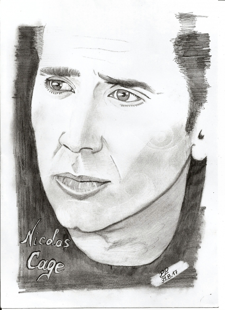 Nicolas Cage by Patoux